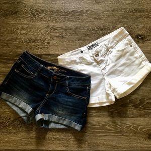 EUC 2 pairs of shorts